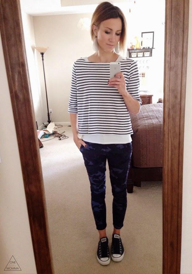 stripes, navy camo, converse