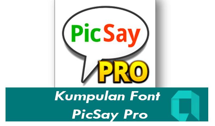 Download Font Picsay Pro Terlengkap Paling Keren