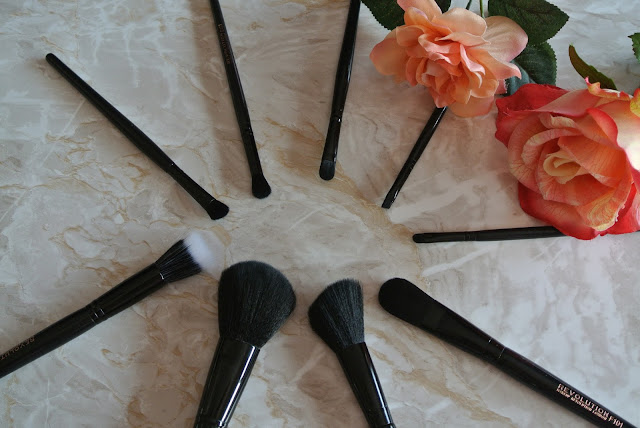 Makeup Revolution 9 Piece Amazing Brush Collection Image Budget Affordable Superdrug