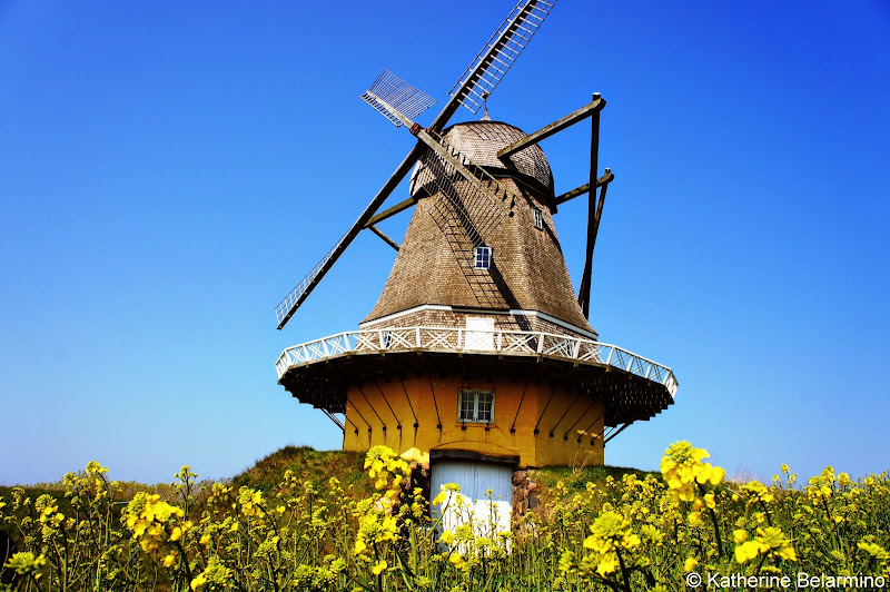 Viby Windmill Hindsholm Peninsula Denmark