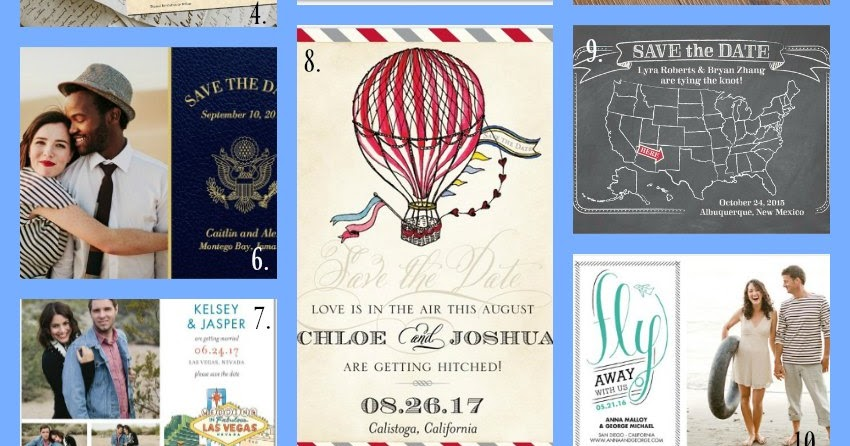 When Do You Send Out Save The Date: 10 Destination Wedding Save The Date Ideas