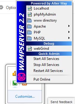 Cake PHP Rapid Development: Creating Database in MySQL using