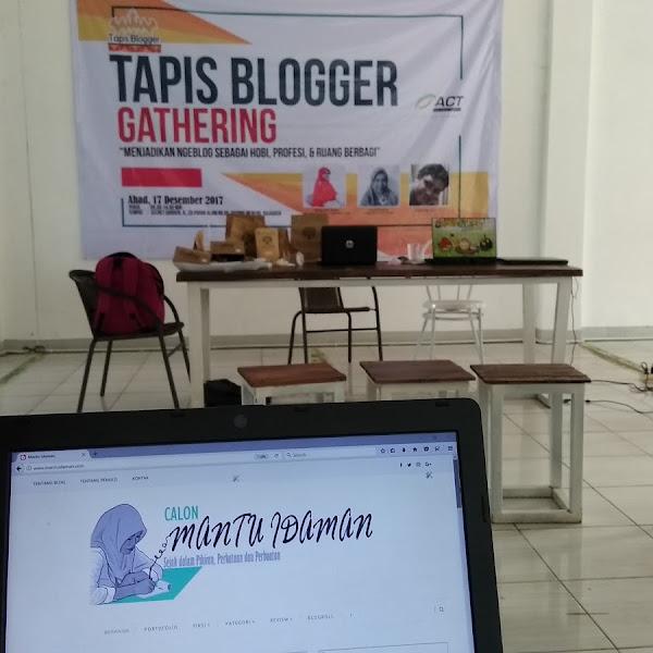 Ketika Mantuidaman Blog Gathering Bareng Tapis Blogger