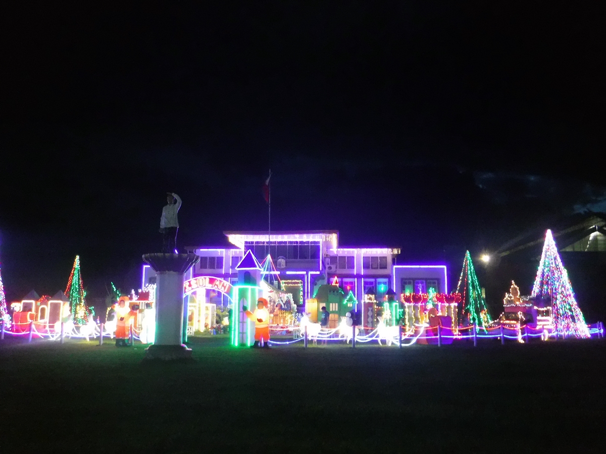 Christmas Village at Isulan Municipal Hall