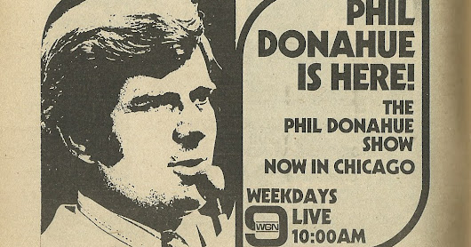 Phil Donahue Show Ad