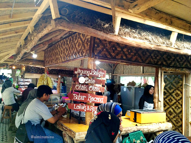 makanan di The Lodge Maribaya