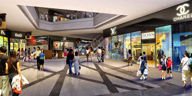 Trung tâm thương mại tại Hateco Xuân Phương