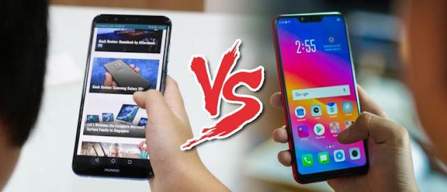 Review Huawei Nova 2 Lite vs Oppo A3s