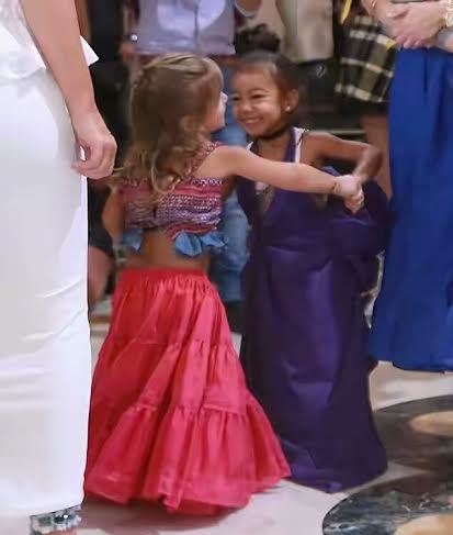 Cousins North West & Penelope Disick Show Their Salsa Moves On A Dance Floor In Cuba