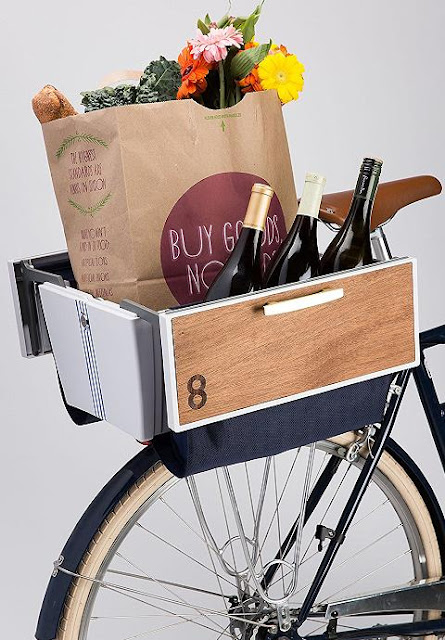 Buca Boot bike basket
