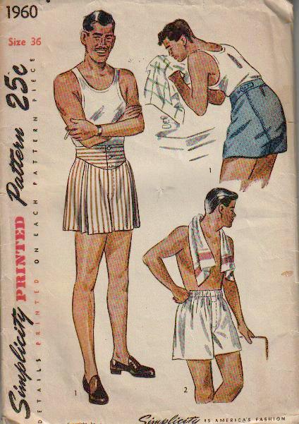 Male Pattern Boldness Mpb Men S Boxers Sew Along