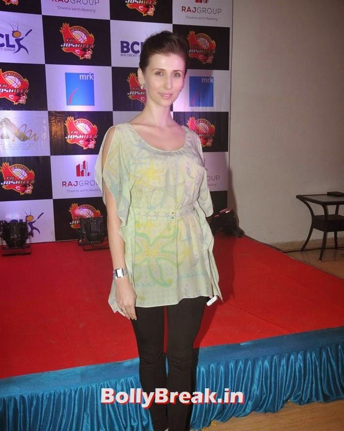 Claudia Ciesla, Photos From Jaipur Raj Joshilay Team Jersey Launch