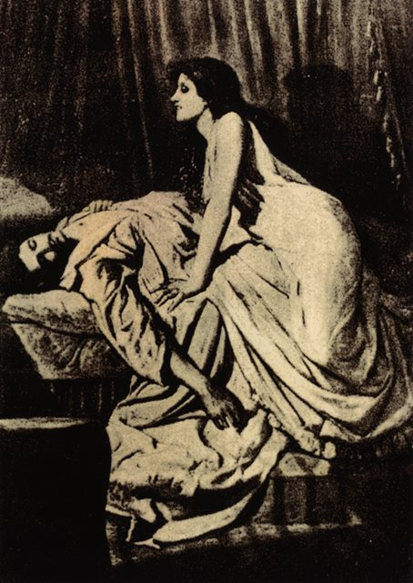 The Vampire (1897) - Philip Burne-Jones. horror art