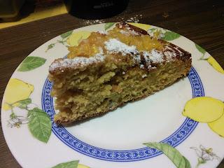 Torta all'arancia dietetica