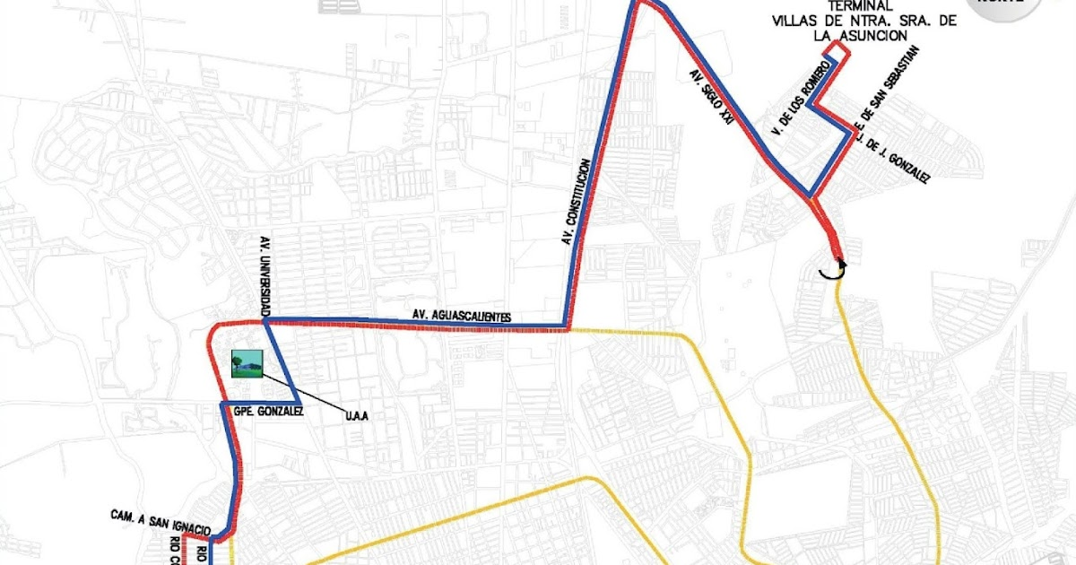 Rutas De Camiones Aguascalientes El Buen Vecino Ruta 30