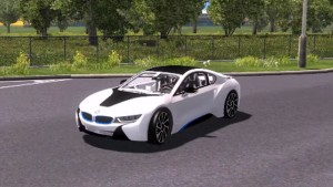 BMW i8 car mod