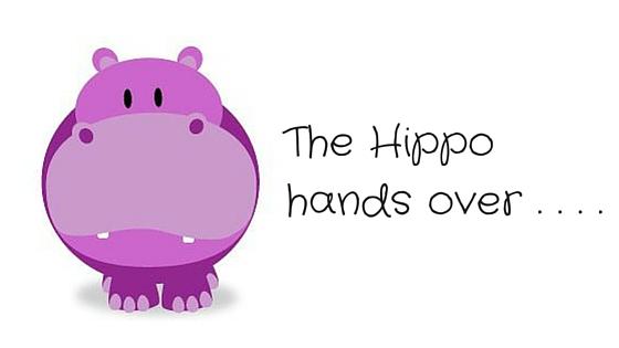 The Haphazardous Hippo The Hippo Hands Over To Lynda Renham