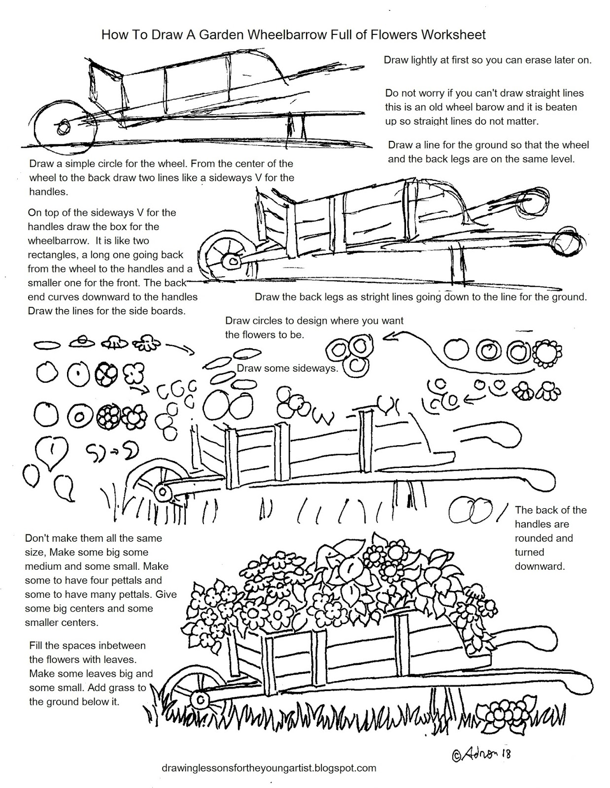 Vector Drawing Lines Worksheets : How to draw worksheets for the young artist