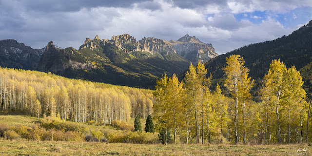 Fall Colors in the Cimarron Mountains near Gunnison, Colorado