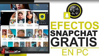 descargar filtros de snapchat para pc