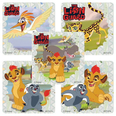 The Lion Guard party favors-stickers 75 pack