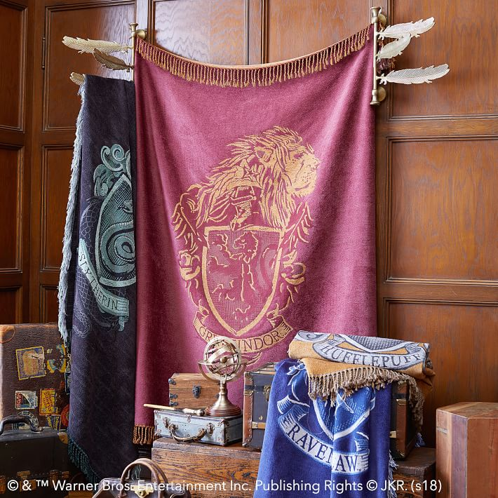 Pottery Barn Harry Potter Throw Blankets
