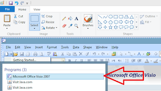 Bagaimana membuat jadwal dengan menggunakan Ms Visio 2007