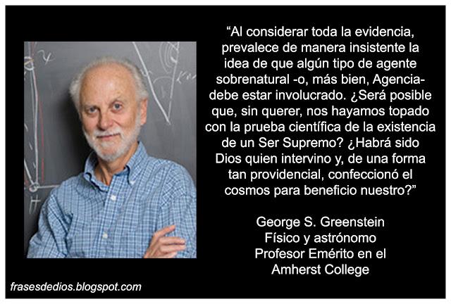 frases ciencia y religion george greenstein