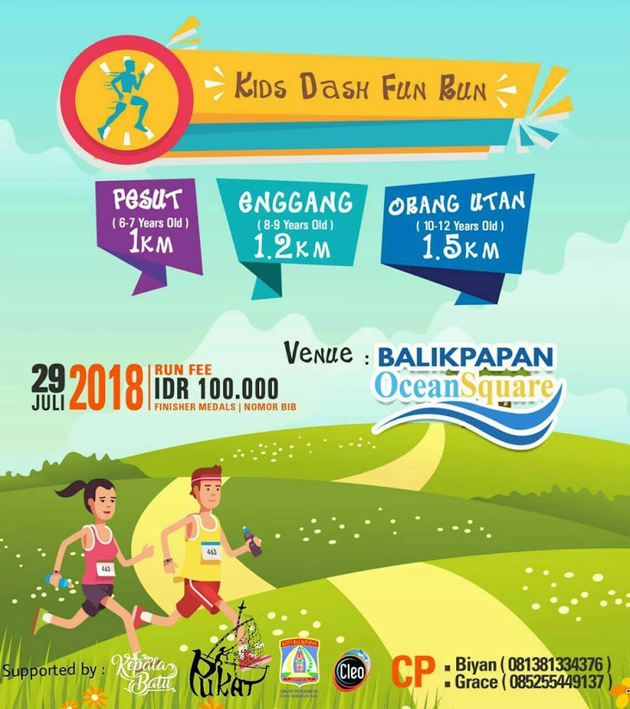 Kid Dash Fun Run • 2018