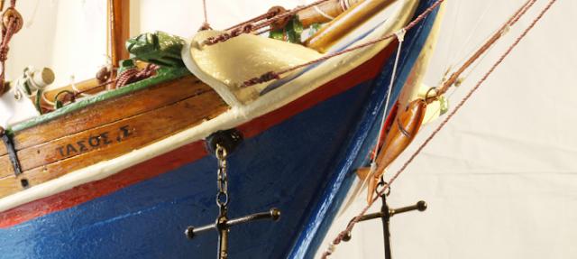 Μουσειακά εκθέματα τα παραδοσιακά ξύλινα αλιευτικά σκάφη