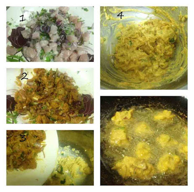 How to make chicken pakoda