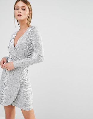vestidos cortos Asimetricos