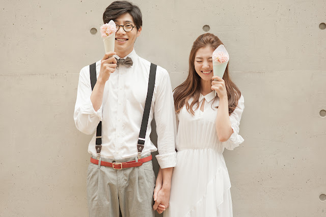 Foto Prewedding Casual Korea