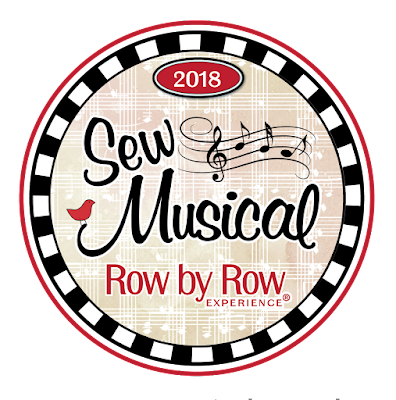 Row by Row Experience 2018 Sew Musical