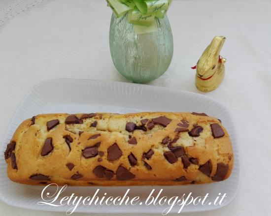 Plumcake con uovo di Pasqua - Letychicche