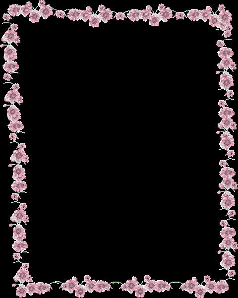Flower Clipart Border 2019