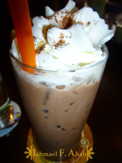 Cold coffee from Le Petit Cafe, Chiang Rai