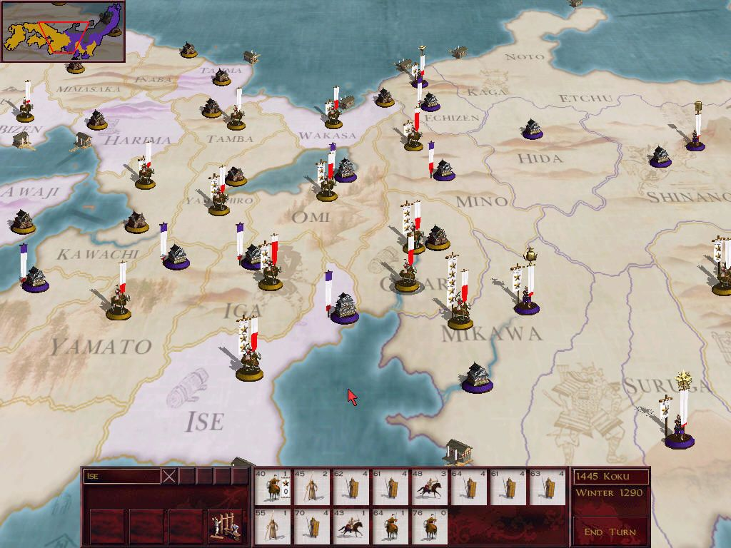 World map screens that sucked you into the game page 6 neogaf the map from the first shogun total war and the first total war game i actually prefer this more stylized map to the more realistic ones in the later gumiabroncs Choice Image