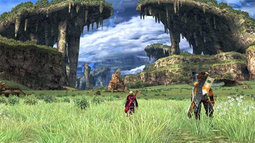 Xenoblade Chronicles screenshot 1