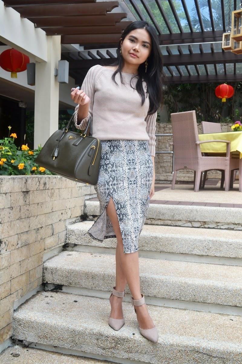 Snakeskin I Am Alexa│london Fashion Travel And Style