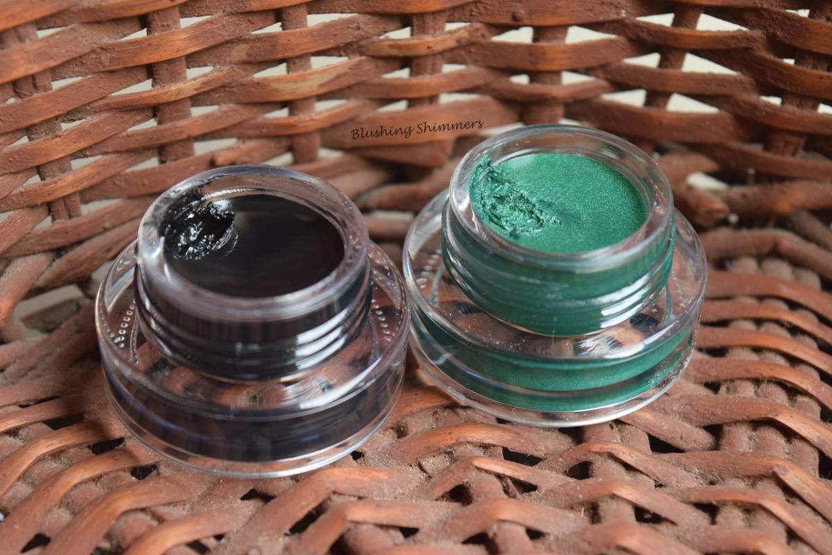 Music Flower Long-wear Gel Eyeliner in Black and Green