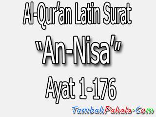 surat an-nisa, latin surat an-nisa, bacaan surat an-nisa