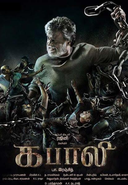Poster Of Kabali 2016 720p Tamil HDRip Full Movie Download