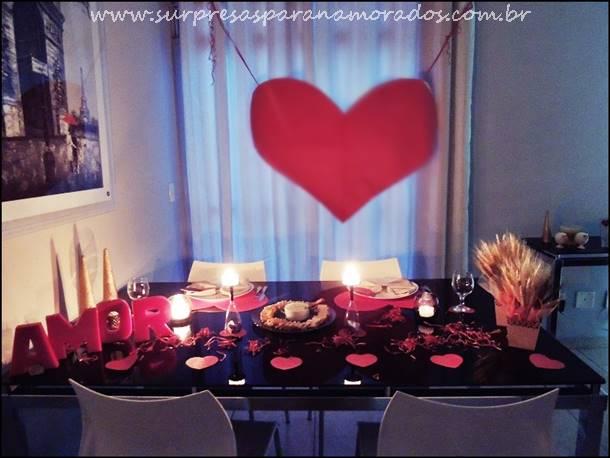 jantar para o namorado