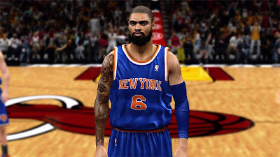 NBA 2K13 Tyson Chandler Beard Update