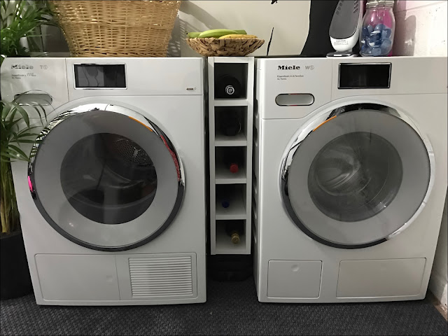 My Midlife Fashion, Miele, W1 washing machine, T1 tumble dryer