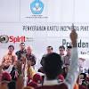 Presiden Jokowi, Serahkan 1.191 KIP Pada  Anak Indonesia