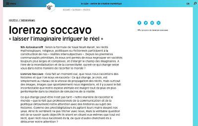 Interview_Lorenzo_Soccavo_Revue_Le_Cube_Juin_2018
