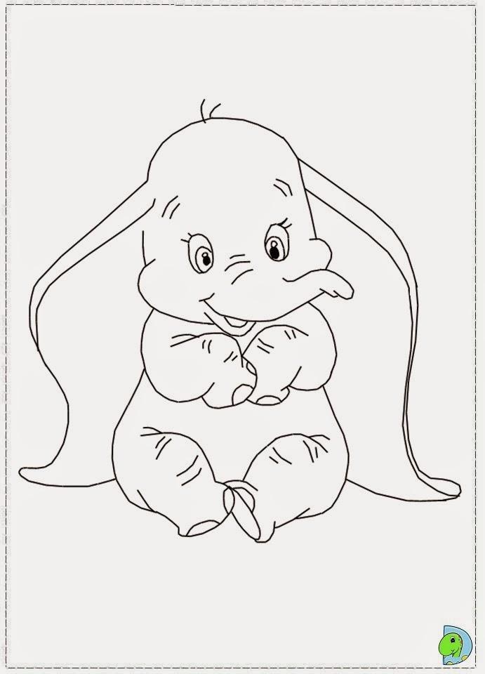 Dinokids Desenhos Para Colorir Desenhos Do Dumbo Para