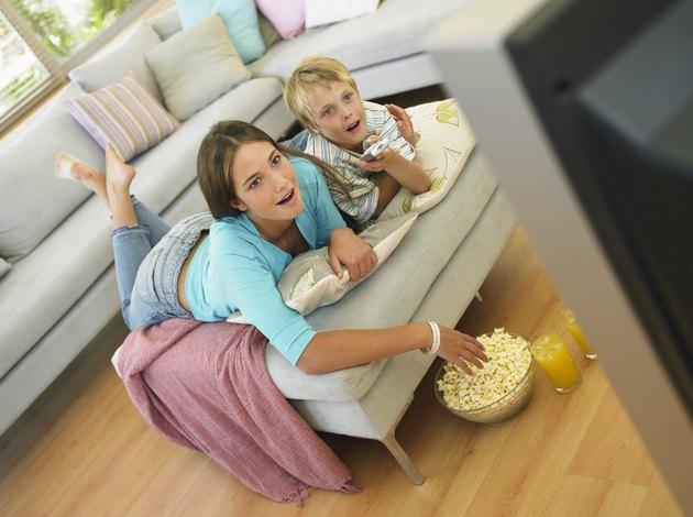 كم يشاهد الطفل التلفزيون المتوسط كل يوم